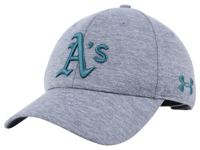 Oakland Athletics Under Armour MLB Twist Closer Cap
