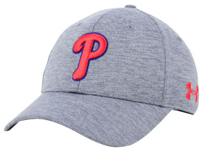 Philadelphia Phillies Under Armour MLB Twist Closer Cap