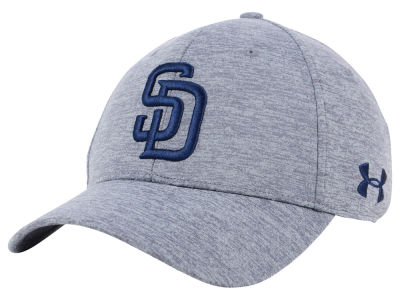 San Diego Padres Under Armour MLB Twist Closer Cap