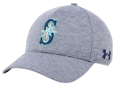 Seattle Mariners Under Armour MLB Twist Closer Cap