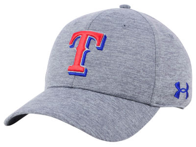 Texas Rangers Under Armour MLB Twist Closer Cap