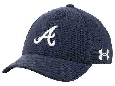 Atlanta Braves Under Armour MLB Boy's Adjustable Blitzing Cap