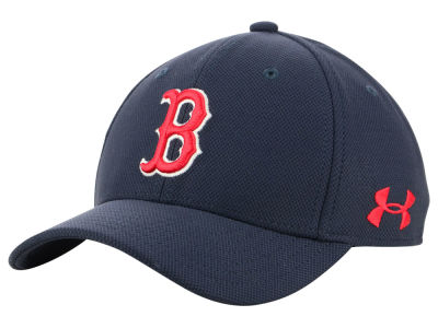 Boston Red Sox Under Armour MLB Boy's Adjustable Blitzing Cap