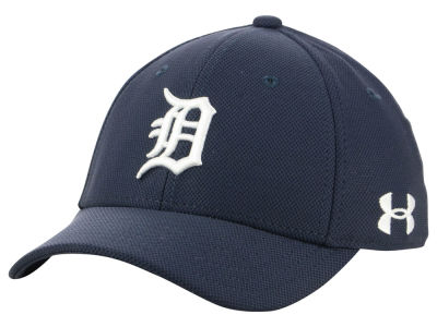 Detroit Tigers Under Armour MLB Boy's Adjustable Blitzing Cap