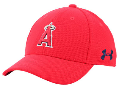 438573ea710 Los Angeles Angels Under Armour MLB Boy s Adjustable Blitzing Cap