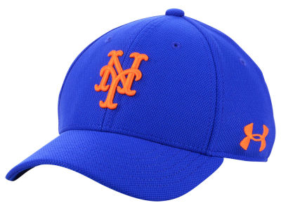 New York Mets Under Armour MLB Boy's Adjustable Blitzing Cap