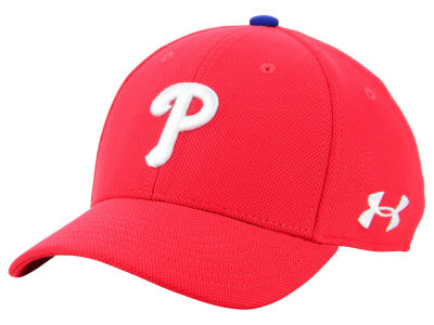 Philadelphia Phillies Under Armour MLB Boy's Adjustable Blitzing Cap