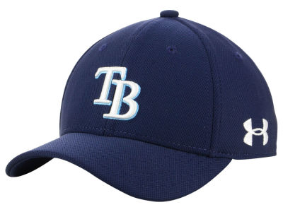 Tampa Bay Rays Under Armour MLB Boy's Adjustable Blitzing Cap