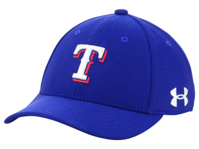 Texas Rangers Under Armour MLB Boy's Adjustable Blitzing Cap
