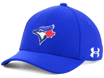 Toronto Blue Jays Under Armour MLB Boy's Adjustable Blitzing Cap