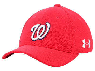 Washington Nationals Under Armour MLB Boy's Adjustable Blitzing Cap