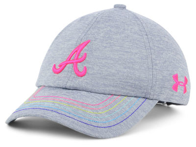Atlanta Braves Under Armour MLB Girls Renegade Twist Cap