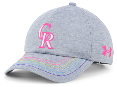 Colorado Rockies Under Armour MLB Girls Renegade Twist Cap