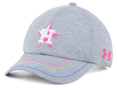 Houston Astros Under Armour MLB Girls Renegade Twist Cap
