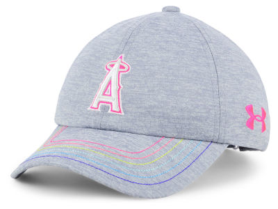 Los Angeles Angels Under Armour MLB Girls Renegade Twist Cap