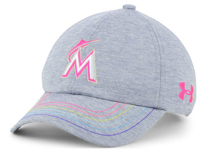 Miami Marlins Under Armour MLB Girls Renegade Twist Cap
