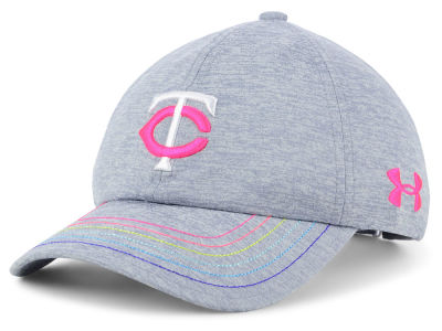 Minnesota Twins Under Armour MLB Girls Renegade Twist Cap