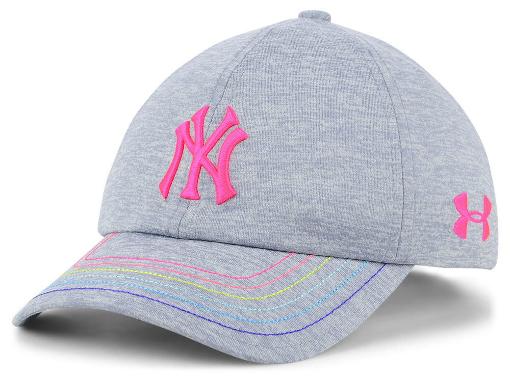 New York Yankees Under Armour MLB Girls Renegade Twist Cap  03cef6dc85f