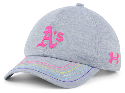 Oakland Athletics Under Armour MLB Girls Renegade Twist Cap