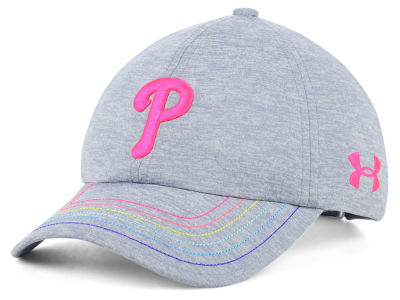 Philadelphia Phillies Under Armour MLB Girls Renegade Twist Cap