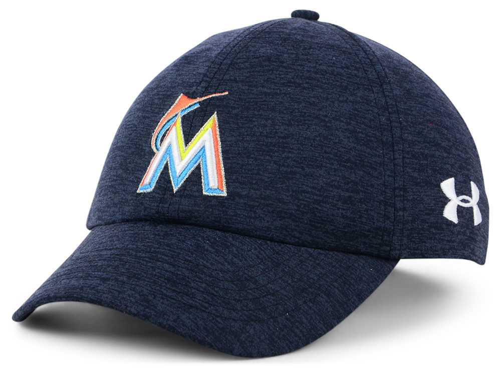 Miami Marlins Under Armour MLB Women s Renegade Twist Cap  98a92d38b7