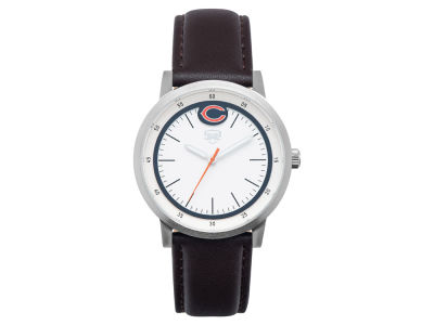 Chicago Bears Jack Mason Leather Strap Watch