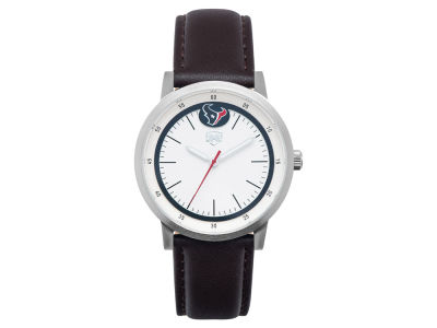 Houston Texans Jack Mason Leather Strap Watch