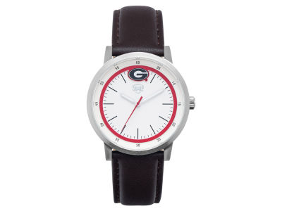 Georgia Bulldogs Jack Mason Leather Strap Watch