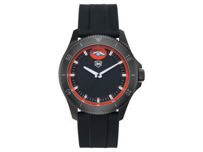 Denver Broncos Jack Mason Men's Blackout Silicone Watch