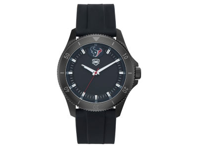Houston Texans Jack Mason Men's Blackout Silicone Watch