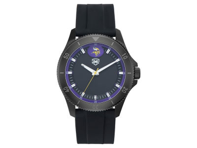 Minnesota Vikings Jack Mason Men's Blackout Silicone Watch