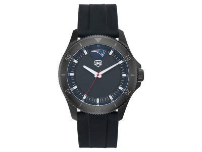 New England Patriots Jack Mason Men's Blackout Silicone Watch