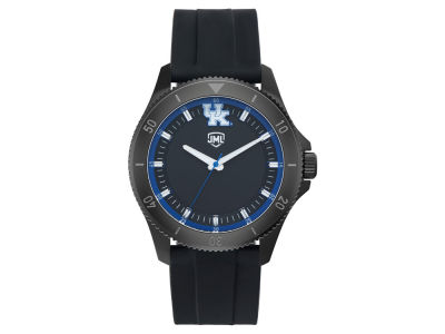 Kentucky Wildcats Jack Mason Men's Blackout Silicone Watch