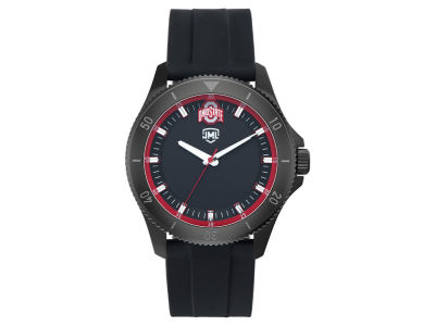 Ohio State Buckeyes Jack Mason Men's Blackout Silicone Watch