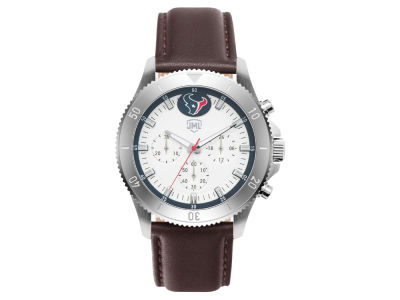 Houston Texans Jack Mason Men's Chronograph Leather Strap Watch