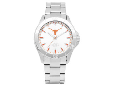 Texas Longhorns Jack Mason Silver Sport Watch