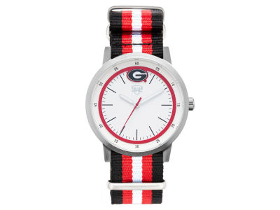 Georgia Bulldogs Jack Mason Striped Nato Strap Watch