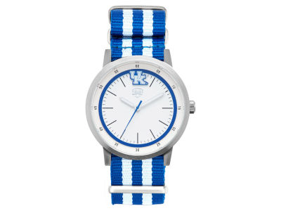 Kentucky Wildcats Jack Mason Striped Nato Strap Watch