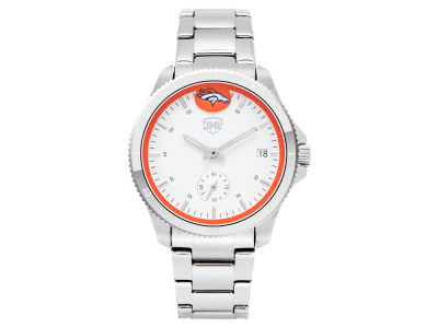 Denver Broncos Jack Mason Women's Silver Sport Watch