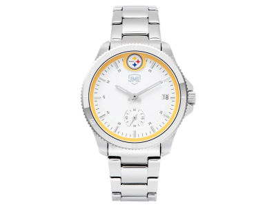 Pittsburgh Steelers Jack Mason Women's Silver Sport Watch