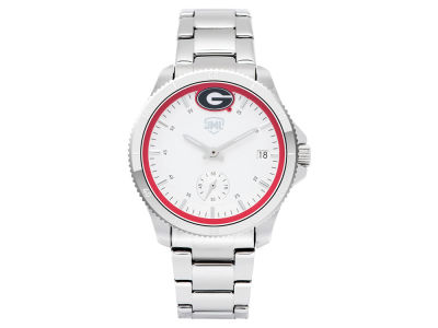 Georgia Bulldogs Jack Mason Women's Silver Sport Watch