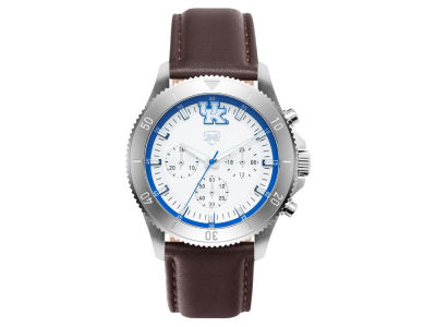 Kentucky Wildcats Jack Mason Men's Chronograph Leather Strap Watch