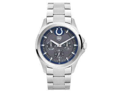 Indianapolis Colts Jack Mason Men's Silver Multi-Function Watch