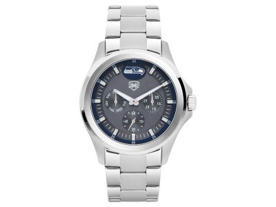 Seattle Seahawks Jack Mason Men's Silver Multi-Function Watch