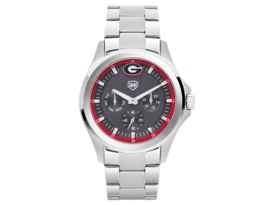 Georgia Bulldogs Jack Mason Men's Silver Multi-Function Watch