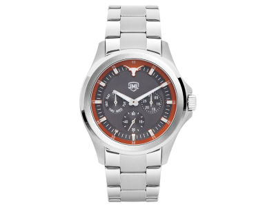Texas Longhorns Jack Mason Men's Silver Multi-Function Watch