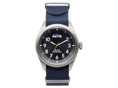 Seattle Seahawks Jack Mason Men's Solid Nato Strap Watch