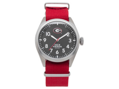 Georgia Bulldogs Jack Mason Men's Solid Nato Strap Watch