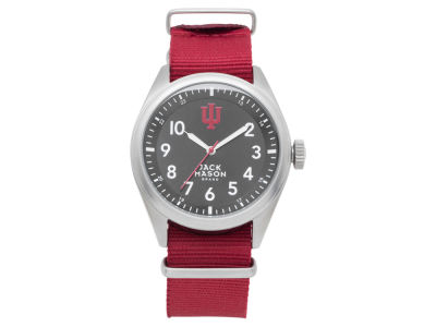 Indiana Hoosiers Jack Mason Men's Solid Nato Strap Watch