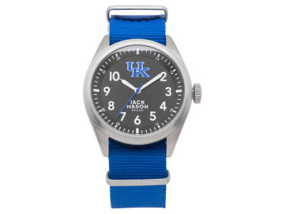 Kentucky Wildcats Jack Mason Men's Solid Nato Strap Watch
